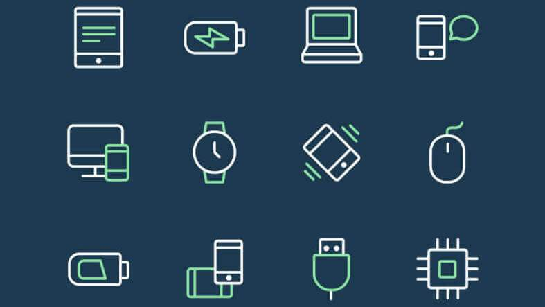 24 Tech & Devices Icons - uifreebies.net