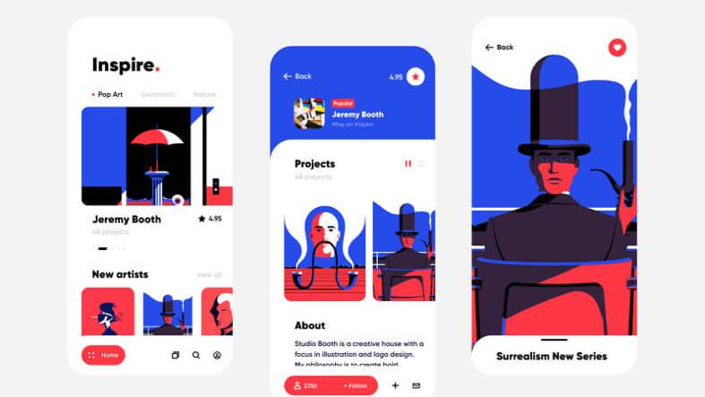 Art App Concept Design