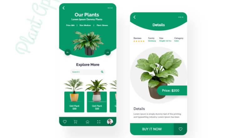 Plant Shop App Free
