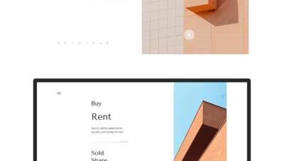 Real Estate Website Free for Figma