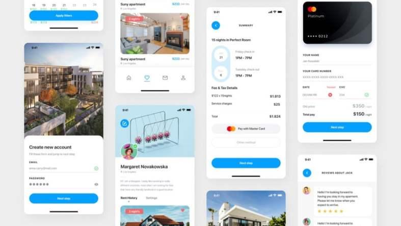 Real Estate UI Kit Free for Figma