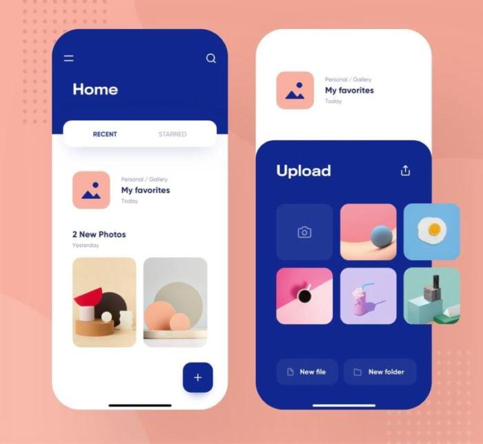 Dropbox Redesign Concept - UI Freebies