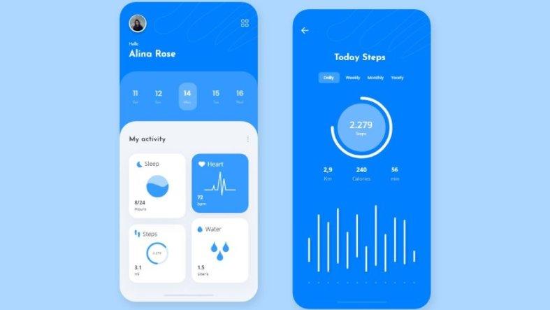 Free Health Activity Tracker App