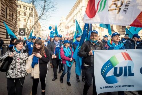 Manifestazione UIL - Roma - Febbraio 2019 -6535