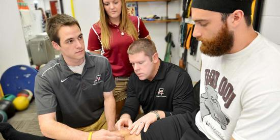 Colleges with athletic training programs