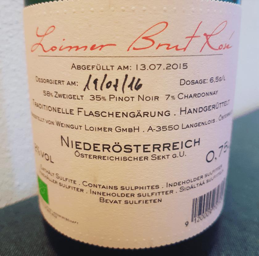 Deze fles is gedégorgeerd op 19 juli 2016.