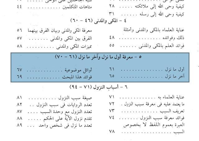 Ulum al-Quran Bab 5