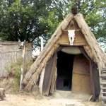 Újkőkori paticsfalú ház