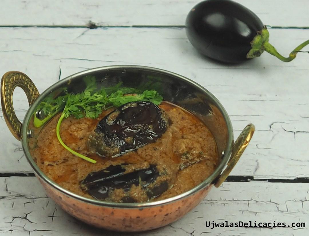 Authentic Andhra vankaya masala