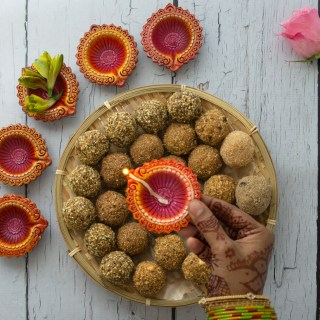 Hemp hearts Pistachio Laddu