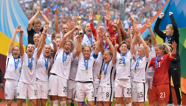 The United States Women's Soccer team recognized by the U.S. Olympic Committee as the U.S. Women's World Cup Team as Olympic Team of the Year for their performance in the 2015 FIFA Women's World Cup.