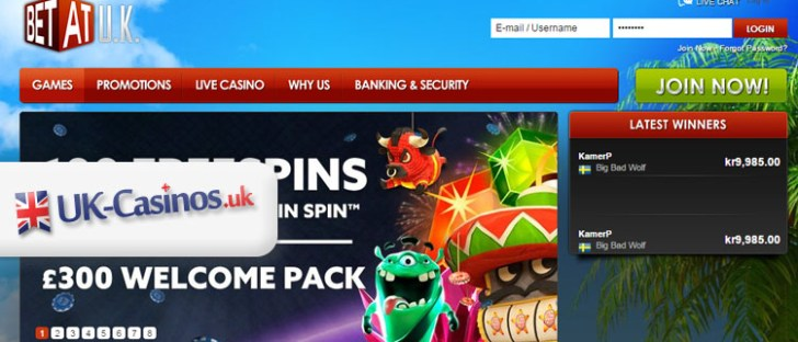 BETAT UK Casino