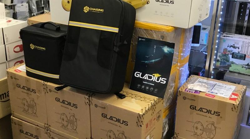 4Kカメラ搭載の水中撮影専用ドローン『グラディウス』(Gladius Advanced Pro) を再入荷いたしました!