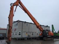 Hitachi ZX470LCH-3 26m 3 Piece Demolition Excavator - UK Plant Traders