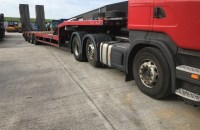 2001 Fatmonville 9TZ-4U 4 Axle Step frame Trailer - UK-PlantTraders.com