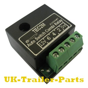 TEC2M Auto Switch Combi Relay wiring diagram | UKTrailer