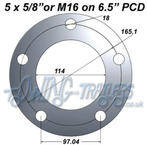 Working out Pitch Circle Diameters (PCD)   UKTrailerParts