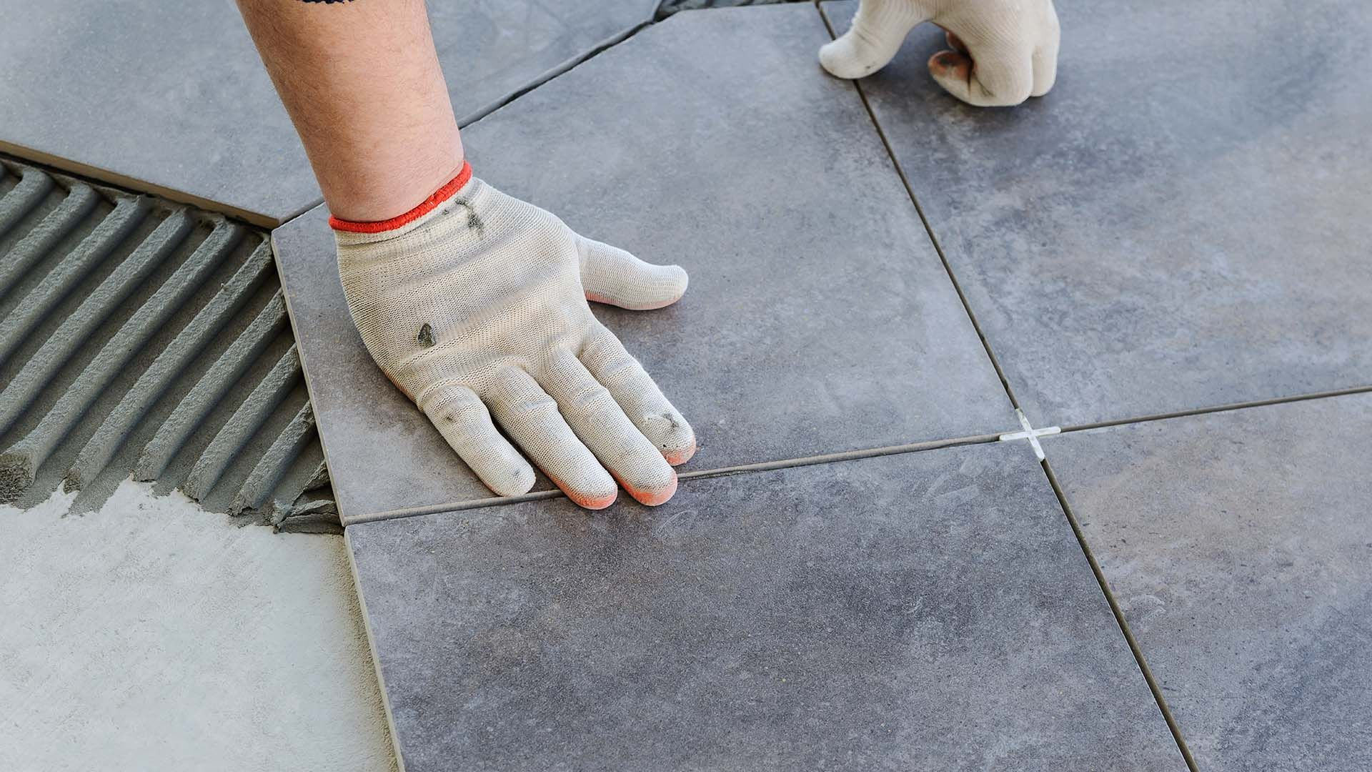 today laying tile floor treatment