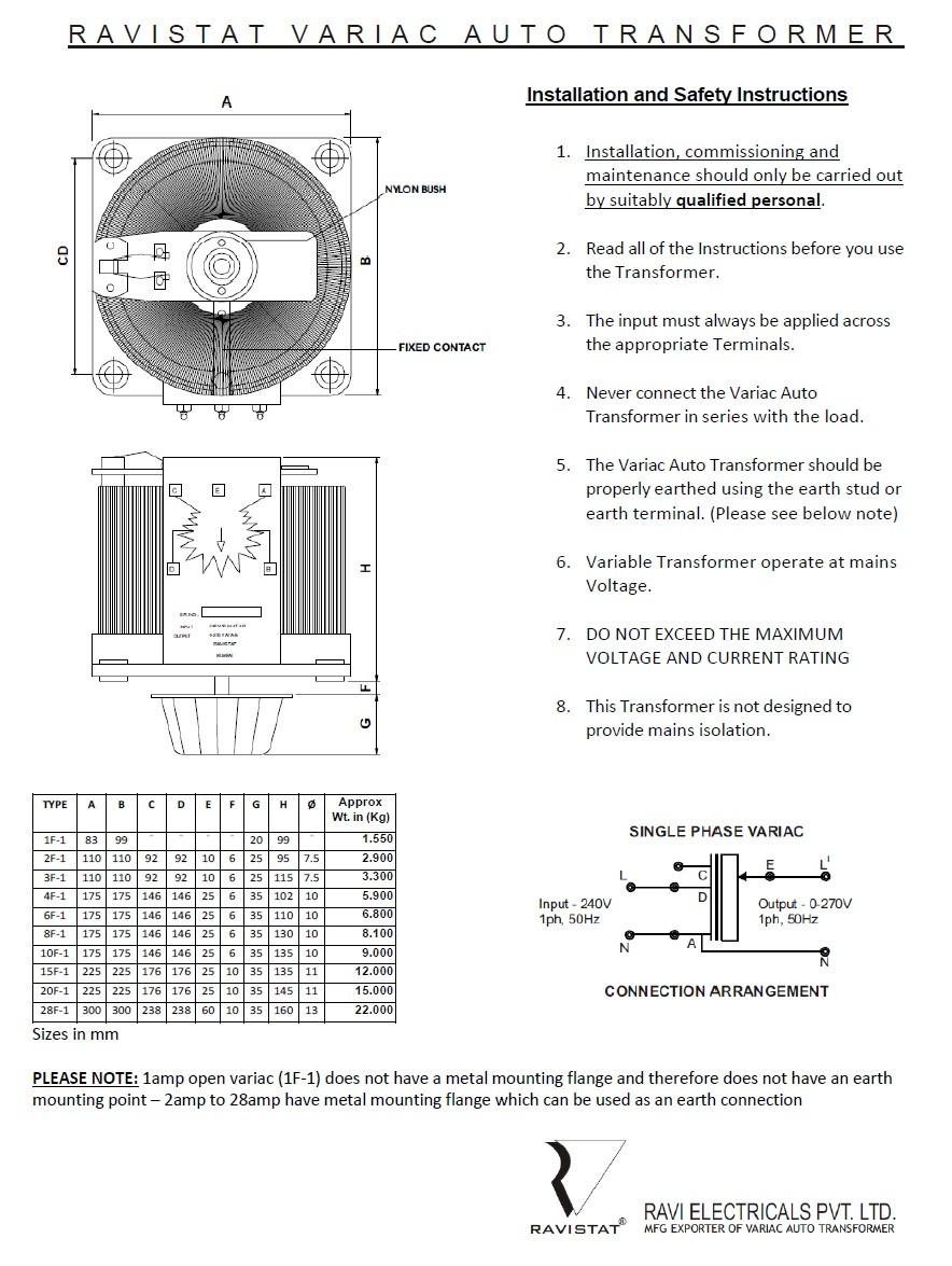 Jh S Variac Fan Controller