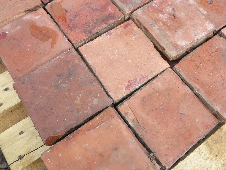 reclaimed outdoor terracotta quarry floor tiles