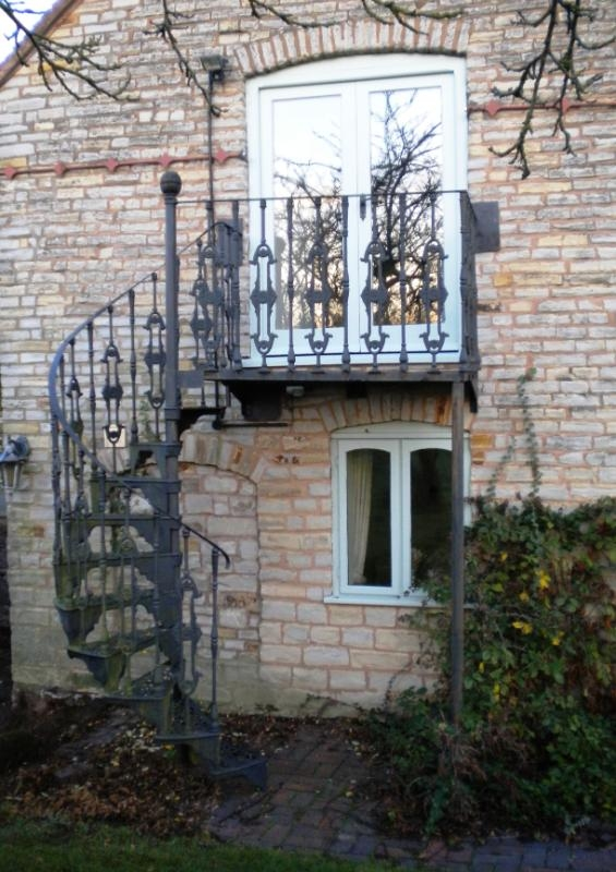 Spiral Staircase And Stairs For Sale In The Uk | Antique Spiral Staircase For Sale | French | Wooden | Old Fashioned | Wood Antique | Cast Iron