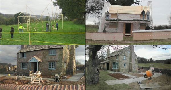 The Cottage en construction de The Holiday