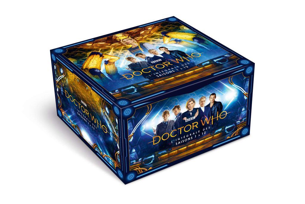 Doctor Who Integrale Saisons 1 à 12 - idees cadeaux dr who