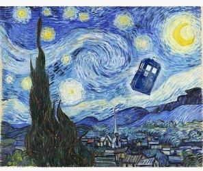 Vincent et le docteur, impression murale