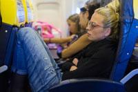 On Board Plane