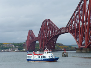 The Forth Bridge in Scotland