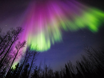 Nasa photo of Northern Lights
