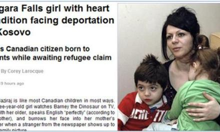 Vajza me sëmundje zemre po ballafaqohet me deportim