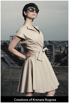 Kosova fashion designer launches her clothing line in Vienna and Zurich