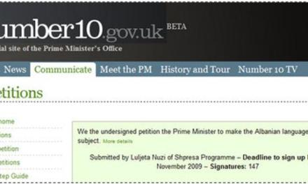 """Albanian language a GCSE subject"" petition ending soon"