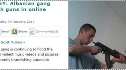 """Edhe pse policia nuk i merr seriozisht, tabloidet vazhdojnë të shkruajne për """"gangsterët"""" shqiptarë"""