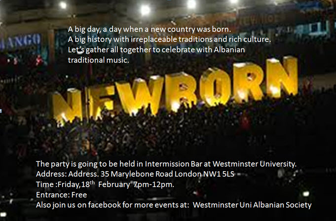Kosova Independence Party by Westminster University Albanian Society