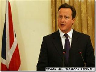 David Cameron, Kryeministri Britanik
