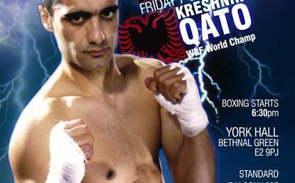 <!--:en-->Boxing: Kreshnik Qato (Left Jab), 7th October 2011 in London<!--:-->