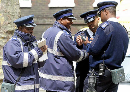 Traffic Wardens - London