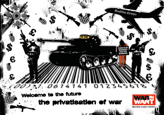Advert: 10-15 Extras needed for Stop the privatisation of war campaign
