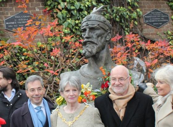 17 January 2013 Skanderbeg Commemoration in London