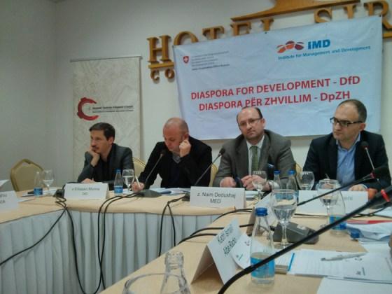 Mërgatës i prezantohet hulumtimi i organizuar nga projekti Diaspora ne Zhvillim
