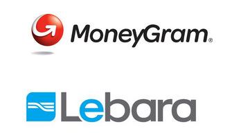 MoneyGram and Lebara logos