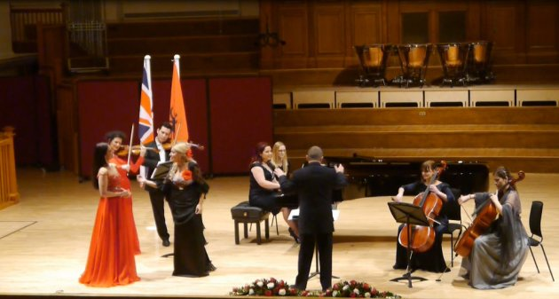 Notes on Albania concert, London, 16 December 2013