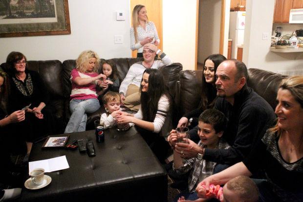 The Govori family in Lincoln, Nebraska