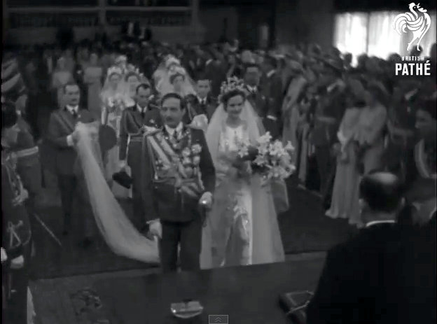 King Zog's Wedding In Albania (1938)