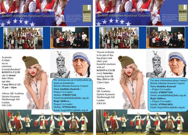 BAKC ju fton në një projekt të ri, Kosova Club, që fillon me 3 maj 2014