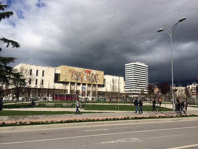 Tirana through student's lenses six years after he left the Albanian capital