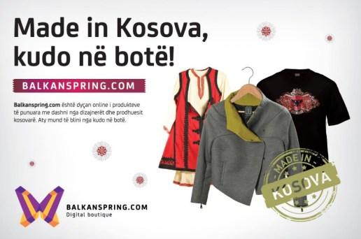 Balkanspring.com, një e-shop që ju sjellë produkte të krijuara në Kosovë