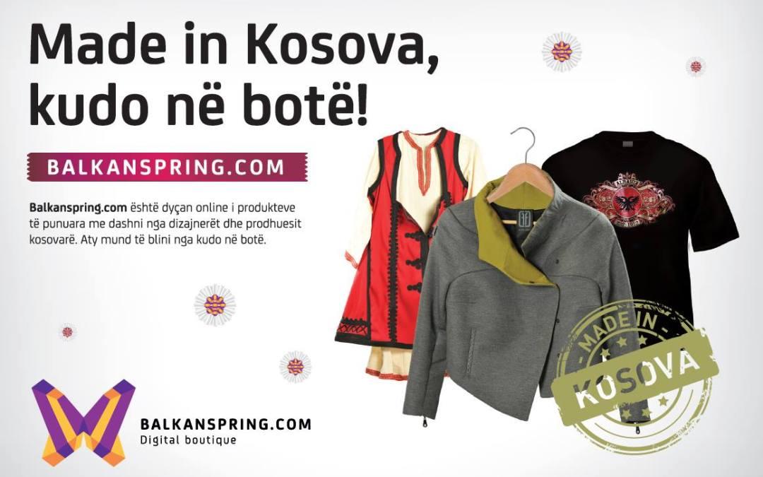Balkanspring.com, an e-shop bringing you a great variety of products crafted from KosovoBalkanspring.com, një e-shop që ju sjellë produkte të krijuara në Kosovë